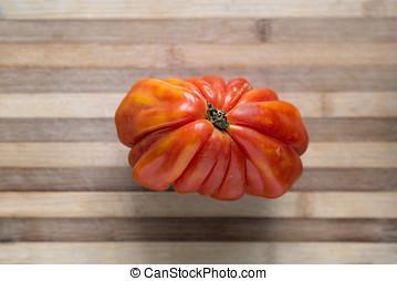 fresco, tomate, bistec,  ecologic