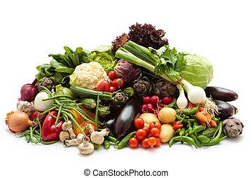 fresco, vegetables.