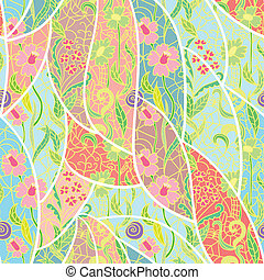 fresco, vetorial, pattern., seamless, padrão