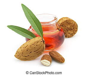 Fresh almonds oil