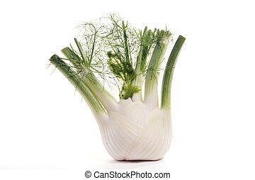 Fresh anise yhe image on white background