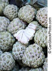 Fresh Annona fruit. - Fresh Annona fruit in the foods...