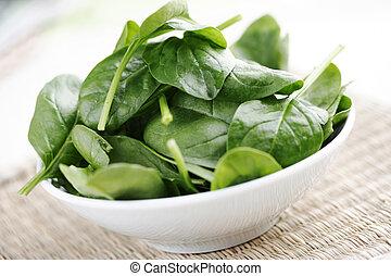 spinach - fresh baby spinach