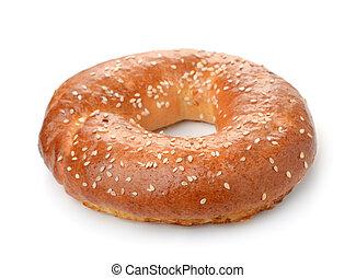 Fresh baked bagel
