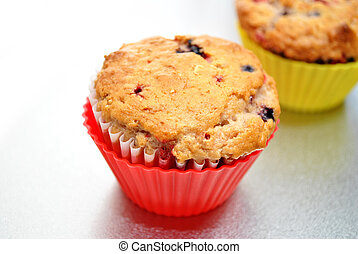 Fresh Baked Berry Muffin