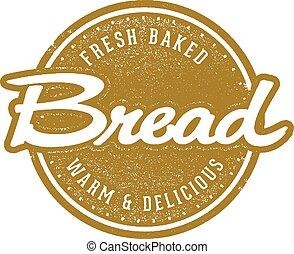 Fresh Baked Bread Stamp