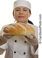 Fresh Baked Bread - The aroma of fresh baked bread.