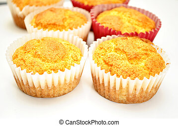 Baked Corn Muffins