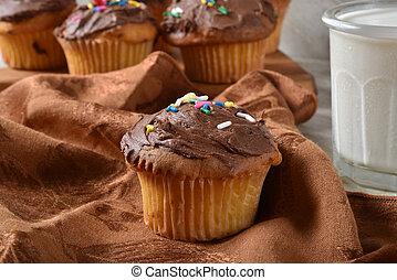 Fresh baked homemade cupcakes
