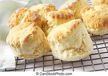 Fresh-Baked Scones - Fresh-baked scones straight from the...