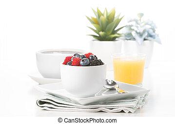Fresh Berries for Breakfast