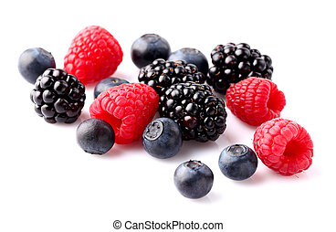 Fresh berry on a white  background