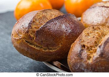 fresh black speciality bun