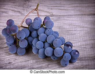 Fresh blue grape