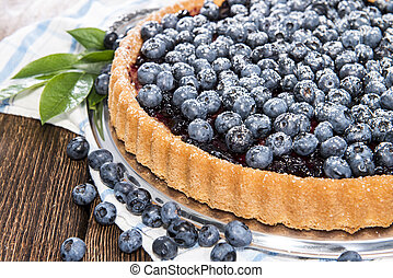 Fresh Blueberry Tart with fruits - Blueberry Tart with fresh...