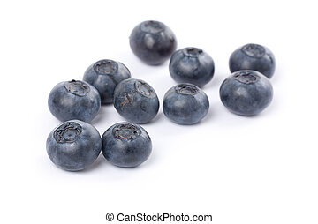 Blueberry - fresh Blueberry with white background