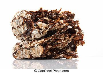 Fresh brown tamarind