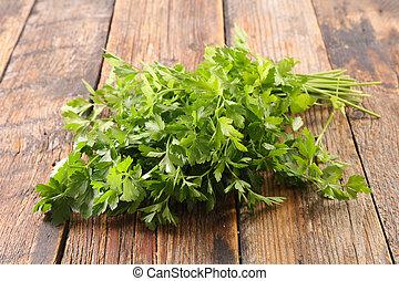 fresh bunch of parsley