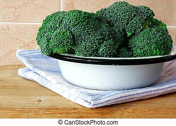 Fresh cabbage broccoli