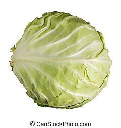 Fresh cabbage isolated