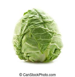 fresh cabbage isolated