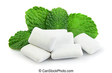 Fresh chewing gum  - Fresh leas mint with two chewing gum