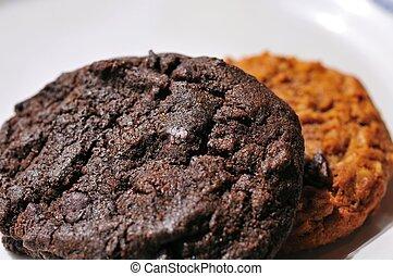 Fresh chocolate cookies