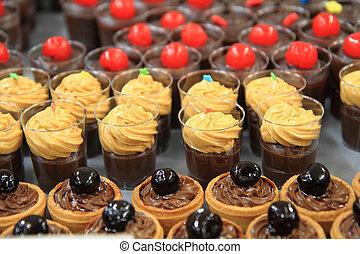 chocolate desserts - fresh chocolate desserts as nice...
