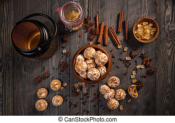 Fresh cinnamon cookies