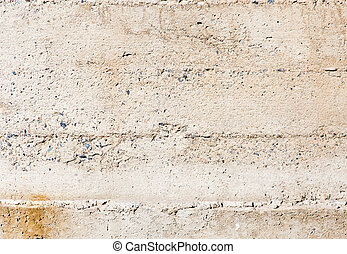 Fresh concrete on the wall as a background