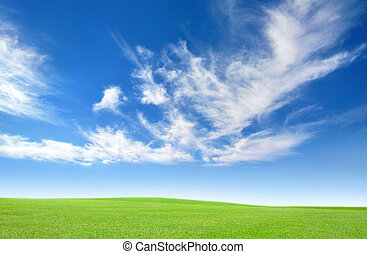 Fresh country air and blue skies - Wide open space, fresh...