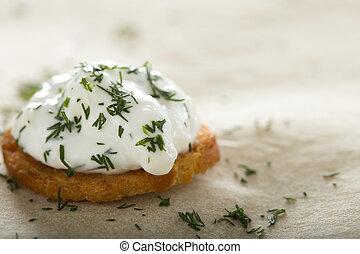 Fresh cream cheese spread