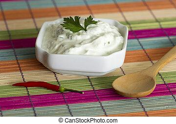 Fresh cream of cheese