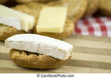fresh crisp bread rolls