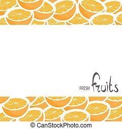 Fresh crop of oranges