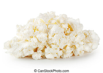 Fresh crumbly cheese