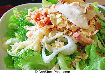 Fresh delicious organic salad