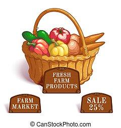 Fresh Farm Products Composition