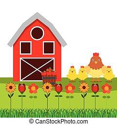 fresh farm products design