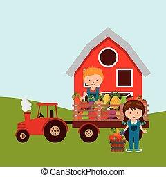 fresh farm products
