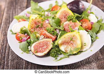 fresh fig salad