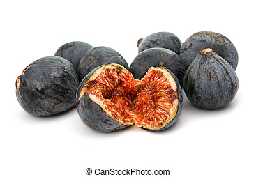 fresh figs isolated