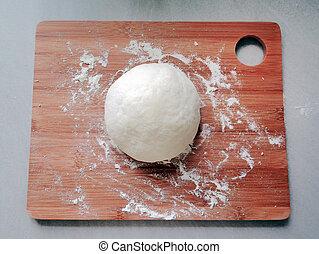 Fresh Flour Dough