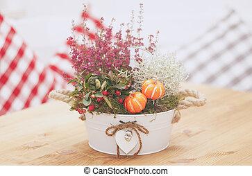 Fresh flowers bouquet
