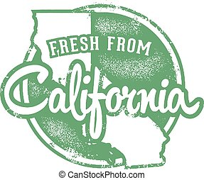 Fresh from California