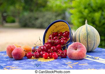 Fresh fruit assortment