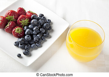 Fresh Fruit Breakfast