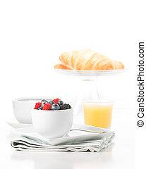 Fresh Fruit Breakfast Portrait