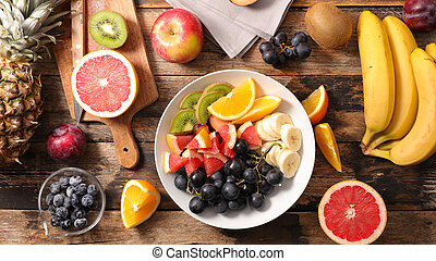 fresh fruit for breakfast or dessert