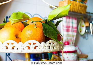 Fresh Fruit in the Kitchen